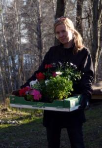 Pirkanmaalainen pihasuunnitelija Maaret Järvinen