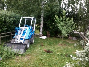 puutarhan kunnostus 1